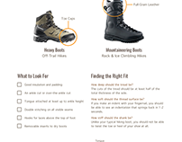 How to Choose the Best Backpacking Boots (Infographic)