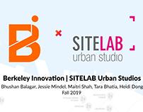 SiteLab Urban Studio Fall 2019