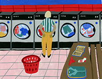 Laundry Day - Personal Illustration