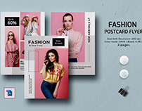 Multipurpose Postcard Flyer Template