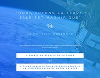 SPACE EXPLORATION EVENT - Print Design