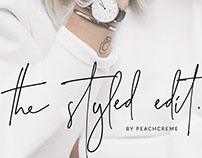 The Styled Edit - FONT
