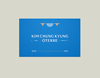 Brand Identity Design for 'KIMCHUNGKYUNG OTERRE'