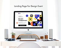 Landing Page for Design Event