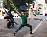 Dancing Bucharest - Urban space becomes a stage