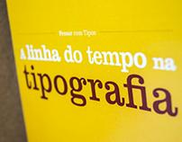 A linha do tempo na Tipografia
