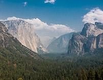 Into the Yosemite N.P.
