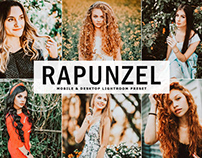 Free Rapunzel Mobile & Desktop Lightroom Preset