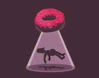 Abducted by Doughnut