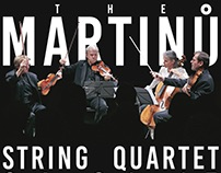 Martinu String Quartet –Print Package