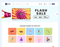 Colorful Clean Online Store