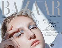 SILVER LINING for Harper's Bazaar Kazakhstan