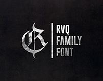 RVQ family font
