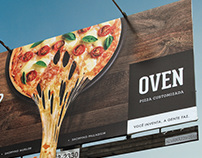Gave will? Go to Oven Custom Pizza.