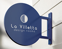 LOGO DESIGN | La Villetta design rooms