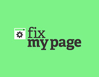 FIX MY PAGE, LOGO ANIMATION