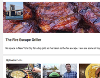 Fire Escape Griller: YouTube Channel