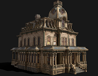 Vintage Victorian House