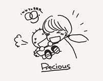 Inktober2018 : 09 Precious