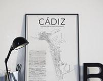 Póster Cádiz