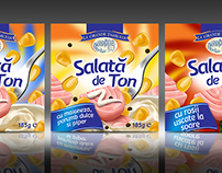 Packaging design for Tuna Salad
