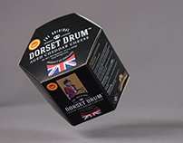 Dorset Drum Packaging for Coombe Castle Cheese