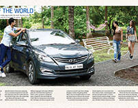 Hyundai Verna Advertorial - Autocar magazine