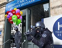 Helium bank