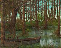 Swamp 3d environment