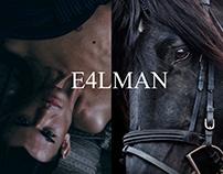 E4LMAN CAMPAIGN 'DARK HORSE' BY LISA KENSINGTON-WRIGHT