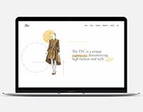 Texas Fashion Collection- Website Design