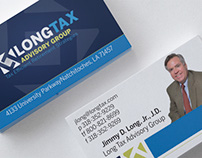Long Tax Advisory Group Branding Stationery