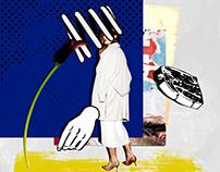 Collage Artwork 027-034
