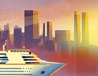 Cruise Ship in San Francisco