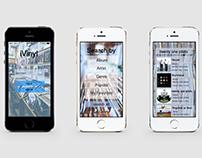 IVinyl Iphone Application Design