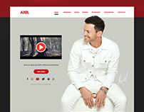 Axel - Diseño de sitio web