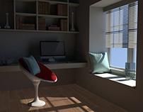 3D Visual Design/Reading Room