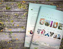 """""""The Essential Guide To A Life Of Travel"""" Book Design"""