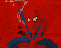 Comics poster - Spiderman / Wolverine / Deadpool