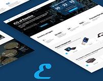 Landing page ICO Esonics