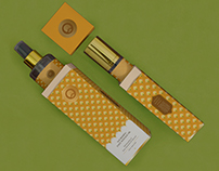 'Ode' by O2 Spa - Packaging design