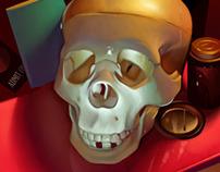 September Skull Studies