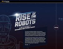 Smithsonian: Rise of the Robots Site & Touchscreen