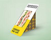 Free Sandwich Packaging Mockup PSD