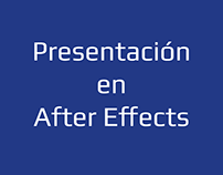 Presentación en After Effects
