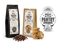 Bread & Butter Pantry packaging design
