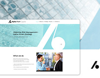 Web Design and corporate identity for a consulting firm