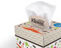 Kleenex Box designs with Sharklet