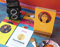 ThumbSpark Creative Calendar 2016