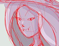 Random sketch girls